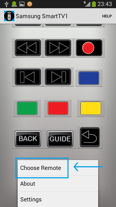 Power IR - Super IR - Universal Remote Control Android application