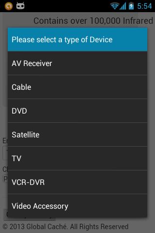 Power Ir Super Ir Universal Remote Control Android